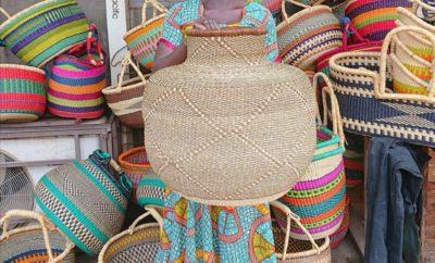 La vannerie africaine sénégalaise