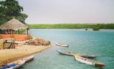 l'ile aux coquillages au coeur de Joal «Sénégal»